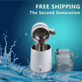 220V/110V,AU / EU/ UK /US plug Distilled Water Machine Portable Water Filter Distiller Medical Machine With Stainless Steel