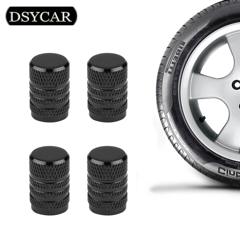 4Pcs/Lot Valve Caps Prevent Corrosion Car Dust Caps Universal Aluminum&Plastic Wheel Tire Air Caps Valve Stem Covers