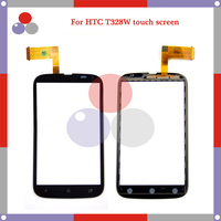 10pcs/lot High Quality For HTC Desire V T328W Touch Screen Panel Sensor Digitizer Outer Glass Lens
