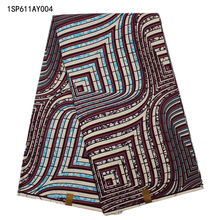 New arrival African wax fabric,Most popular high quality African ankara fabric wax  for party clothing! 1SP611AY004