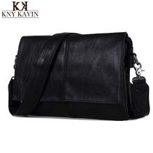 New Arrival Men PU Leather Shoulder Bag Envelope Style Bag Large-capacity Messenger Bags High Quality Men's Leather Handbags