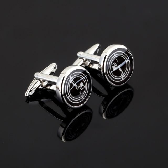 High Quality Automotive S Dometer Design Engineer Oil Gauge Cufflinks Men French Shirt Cuff Cufflinks Wedding Buttons