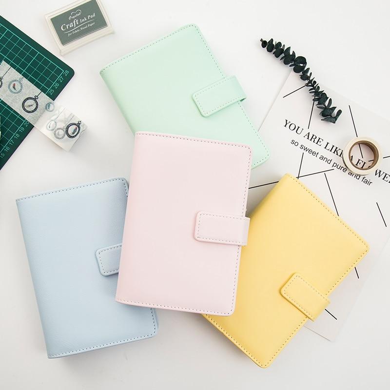 Yiwi A6 espiral Cuadernos papelería, fina Oficina escuela agenda personal organizador carpeta diario semanal planificador regalo