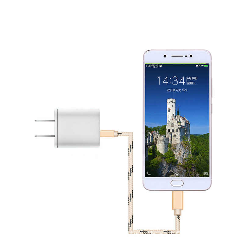 US Plug Charger Ponsel Pengisian Cepat 3.0 Usb Charger Cepat Pengisian Perjalanan Dinding Charger untuk iPhone 7 X XS untuk Xiaomi Tablet
