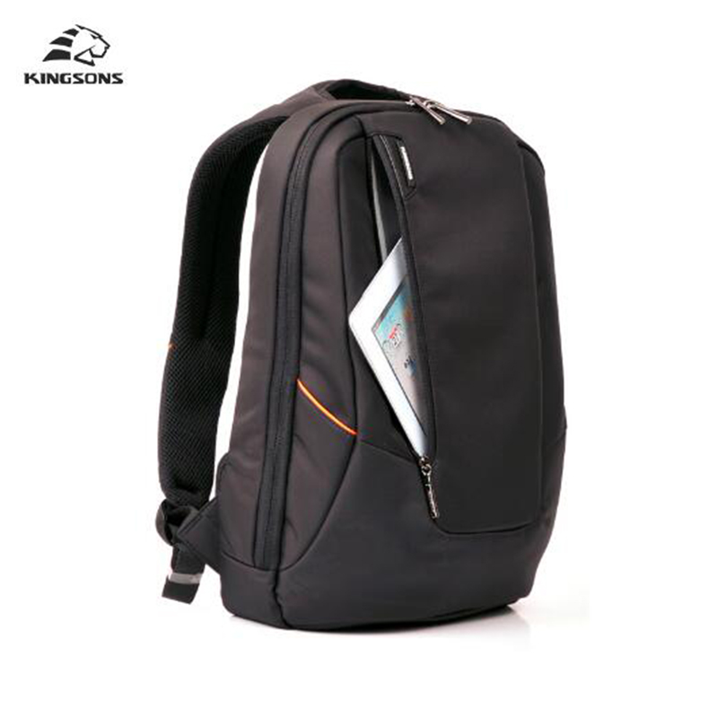 Kingsons Candy Black Laptop Backpack Man Daily Rucksack Travel Bag School Bags Women Bagpack Mochila Feminina 15.6 inch Bags dispalang personalized geometric backpack for laptop notebook school bags for college students men s travel bag rucksack mochila