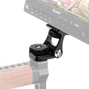 Image 1 - Универсальный кронштейн для монитора видеокамеры Feelworld F6S Bestview S7 S5, регулируемый кронштейн с поворотом на 180 градусов и креплением для холодного башмака