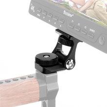 Uniwersalny Monitor do kamery wideo do montażu Feelworld F6S Bestview S7 S5 regulowany uchwyt mocujący obrót o 180 z mocowaniem na zimno