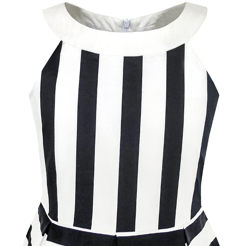 c25f49b13a3a6 Girls Dress Ocean Sailboat Striped Halter Dress Cotton 2018 Summer Princess  Wedding Party Dresses Size 6 14-in Dresses from Mother & Kids on ...