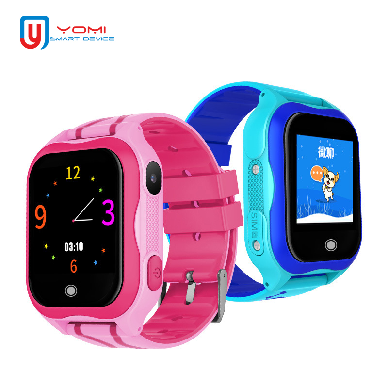 Smart Watch Waterproof SIM Card Smartwatch for Kids Children GPS Smartwatch Pedometer Remote Monitor Wearable Device for Android цена