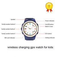 best selling Wireless safe charging gps lbs tracking kid baby gps smart watch android ios smartwatch Finder Device wristwatch