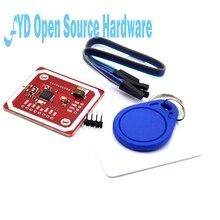 175 ชุด PN532 NFC RFID โมดูลไร้สาย V3 ชุดผู้ใช้ Reader Writer Mode IC S50 การ์ด PCB Attenna I2C IIC SPI HSU สำหรับ arduino