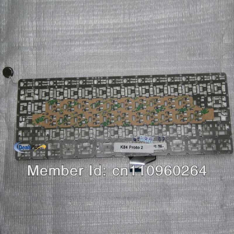 Новая клавиатура США для A1342 MC516LL/болты для корпуса макбука 2010 нам Макет Клавиатура на замену клавиатуры