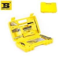 Free Shipping BOSI 38PC Case Home Tool Set New Hand Tools Set