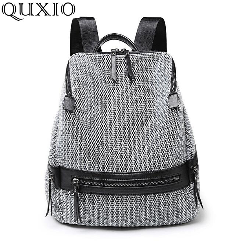 Gepäck & Taschen Angemessen Fashion Ladies Backpack 2019 Star With The Travel Bag Large Capacity Mesh Breathable Wild Tide Female Backpack Ly56d Rucksäcke