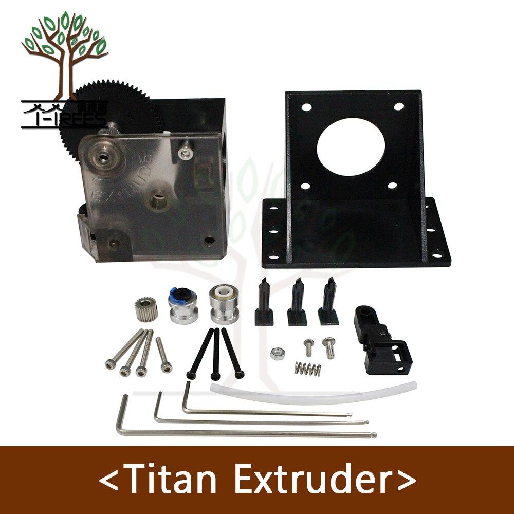 3D Drucker teile Black Widow Extruder Voll Kits Extruder für 1,75mm 3D drucker titan extruder für J-kopf bowden