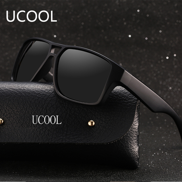 acb2c98d3e UCOOL Fashion Square Polarized Sunglasses Men Dragon Male Eyewear Brand  Designer Driving Sport Sunglasses Polarized Male