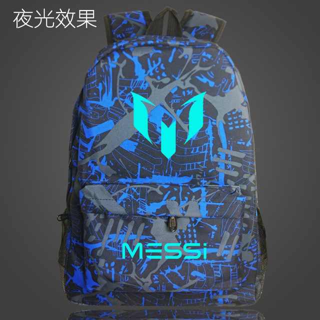 2018 Logo Messi Backpack Bag Men Boys Barcelona Travel Bag Teenagers School  Gift Kids Bagpack Mochila 243c7e3f7d126