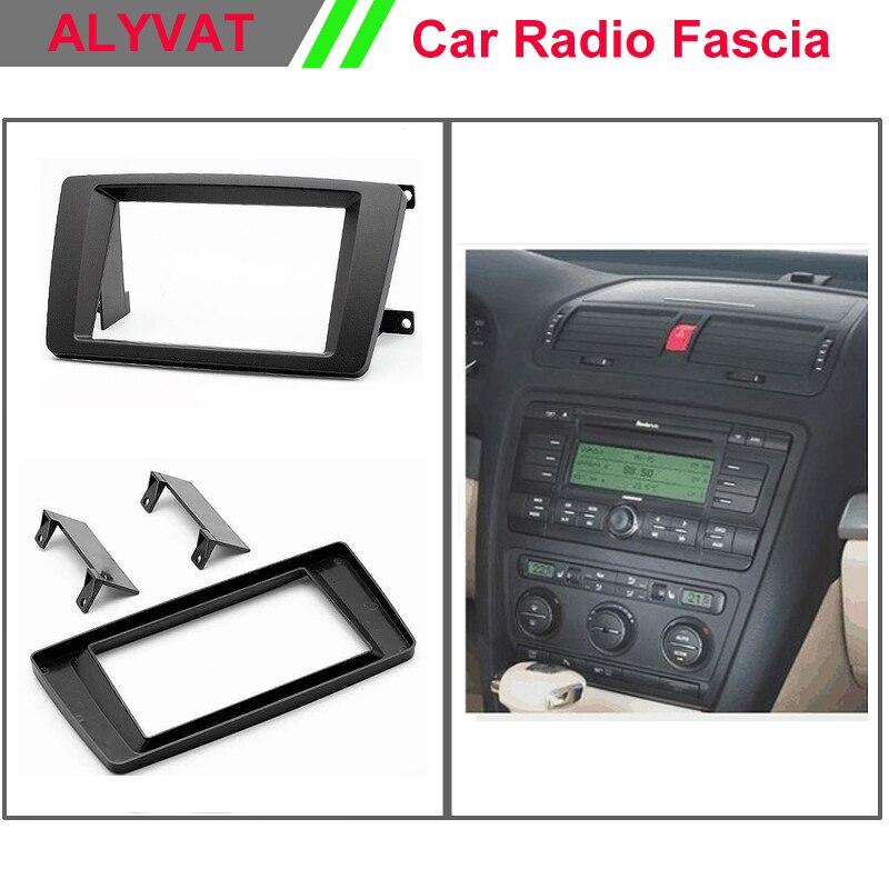 Car Radio DVD Fascia Panel for SKODA Octavia 2004 2013, Laura; Yeti Stereo Dash Facia Trim Surround CD Installation Kit
