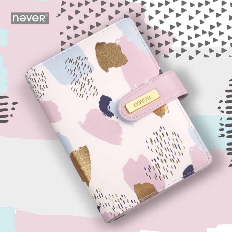 Never  Memphis A6 Spiral Planner Organizer Bullet Journal Notebooks Personal Schedule Book Girls Teachers Gift Stationery Office