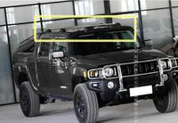 Высокое качество автомобиля Алюминий стойка для багажника на крыше весы для багажа перекладина для Hummer H3 2005 2006 2007 2008 2009 2010 по EMS (с замком)