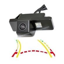 CCD 600 линии умный динамический траектории треков заднего вида камера для NISSAN Juke QASHQAI/Geniss/Pathfinder/X-TRAIL Солнечный