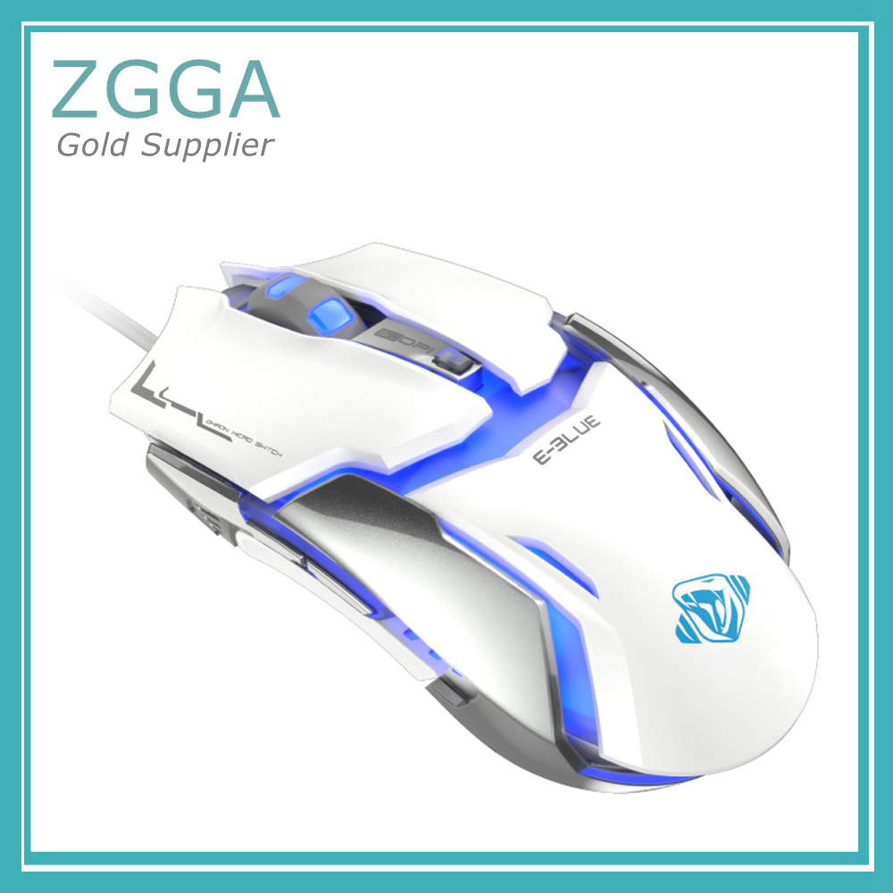 Professional Wired USB Optical Gaming Mouse For PC Computers Laptops Gamer LED 6 Buttons DPI 500/1000 /2000 /3000 /4000 sunsonny t m30 usb wired 6 button 600 1000 1600dpi adjustable led gaming mouse golden red
