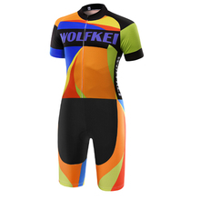 MTB Bike Skinsuit Clothing Outdoor-Wear Ropa-Ciclismo New WOLFKEI Men -Sk0001804126 One-Piece