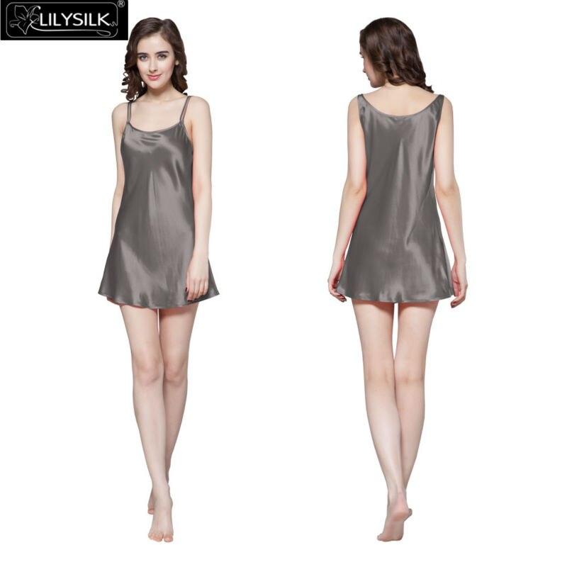 1000-dark-gray-22-momme-mini-scoop-neck-silk-nightgown