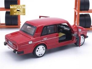 Image 5 - 15 سنتيمتر LADA روسيا 2106 Diecast نموذج سيارة ، سيارة معدنية ، أطفال دمى هدايا الأولاد مع الباب قابلة للفتح/التراجع وظيفة/الموسيقى/الضوء