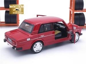 Image 5 - 15CM Rusia LADA 2106 Diecast modelo coche, coche de Metal, niños juguetes de regalo con puerta de fácil apertura/Pull Back función/música/luz