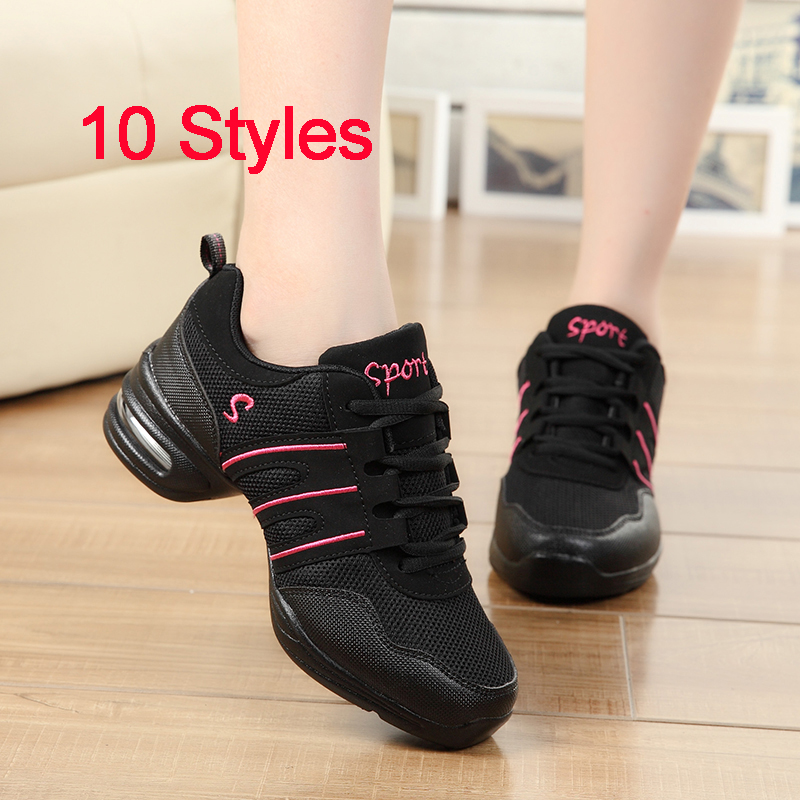 Dancing Shoes For Women Girls Jazz Dance Shoes Breathable ...