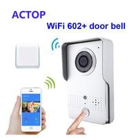 Free Shipping Smart Phone ISO Android Remote Control Unlock WiFi IP Video Door Phone Wireless Door