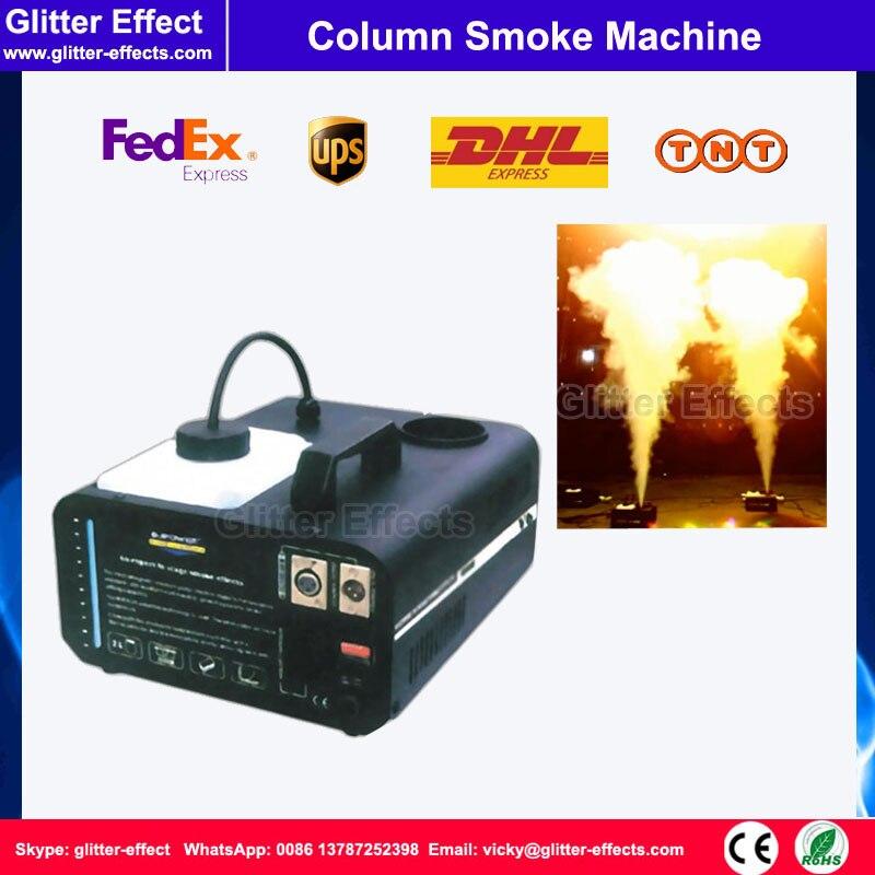 DJ stage special effect 1500W DMX512 column smoke jet fog machine stage vertical column spray fog machine