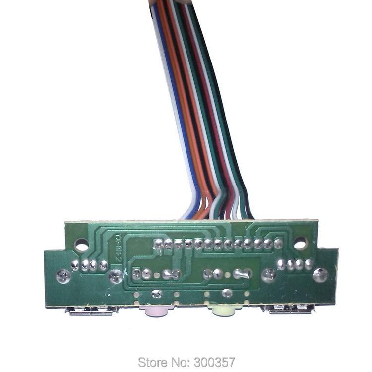 Ordenador de sobremesa para PC de escritorio Panel de E / S frontal - Cables de computadora y conectores - foto 3