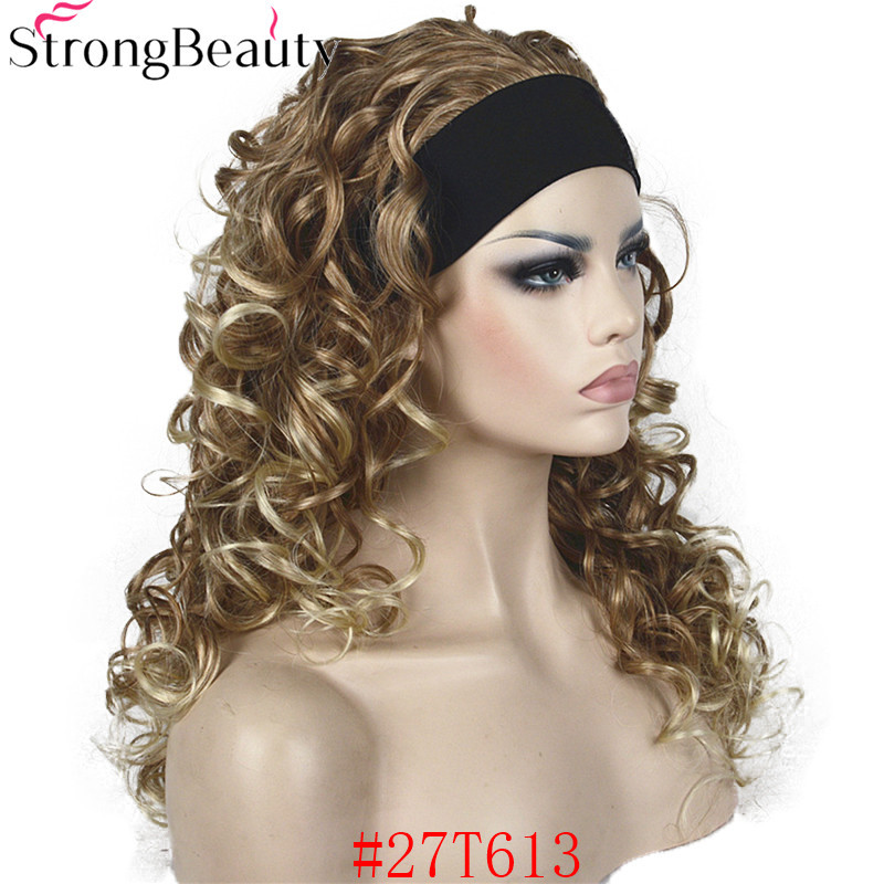 RM 5985 27T613 Synthetic Half Wig With Headband (4)