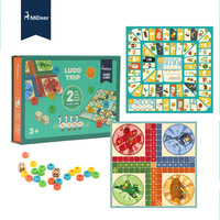 Mideer Children Kids Ludo Trip Paper Puzzle Toys Flying Chess Board Games Jeux Games Spiele Juegos Classic Games