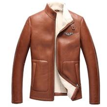 2015  Man's Fur Coat  Male Sheepskin jacket Men's leather jackets Men's leather A jacket 0010