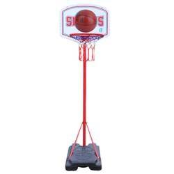 Переносное Баскетбольное кольцо набор баскетбольных стоек Adjujstable для детей 240 см Крытый забавная игра спортивные