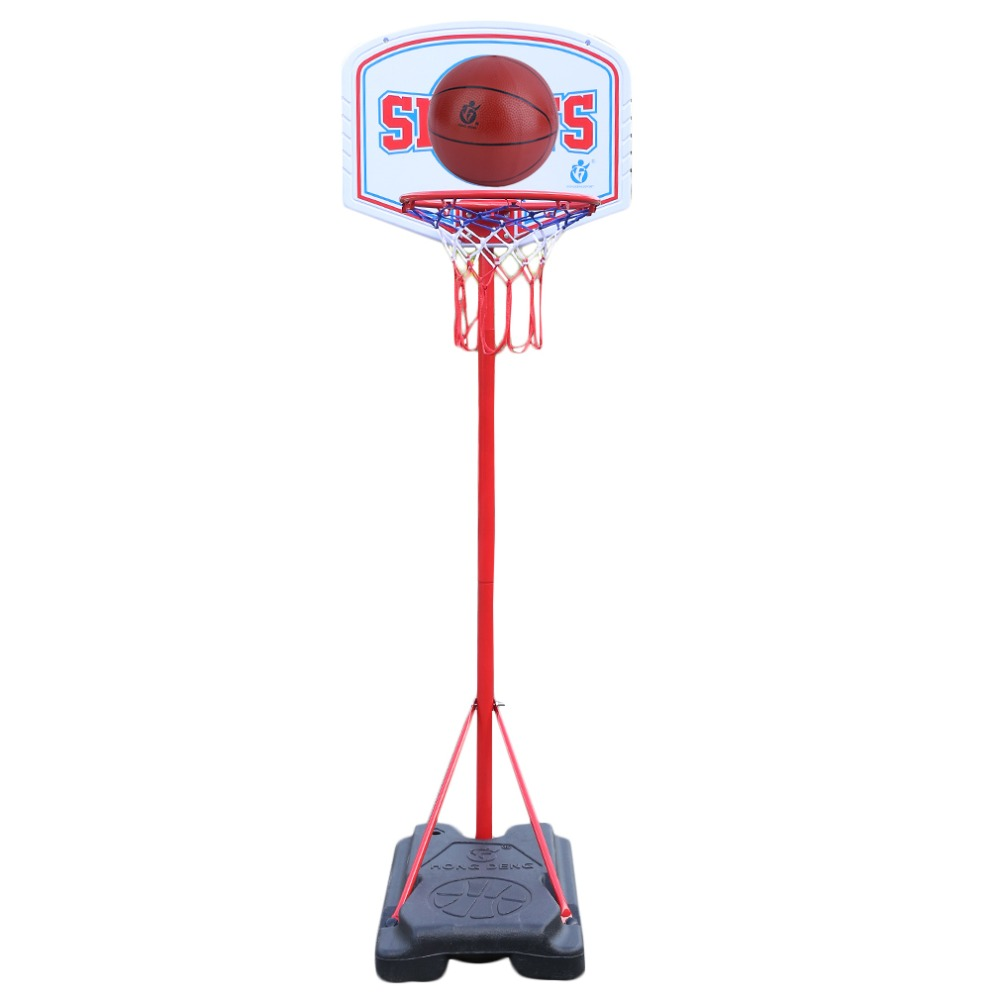 Portable BasketBall Hoop Basketball Stand Set Adjujstable For Children 240cm Outdoor Indoor Fun Game Sports