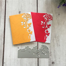 New sewing metal Flower edge cutting mold DIY clipboard envelope greeting card decoration craft stamping making template mold