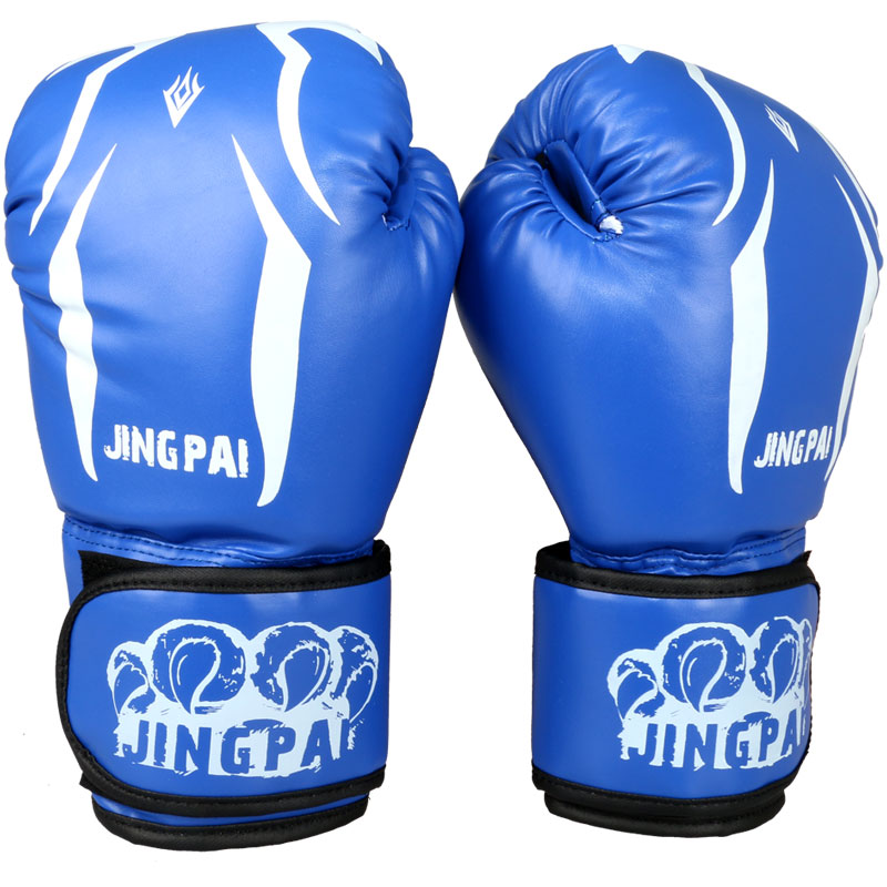 Hide Leather Boxing Gloves Sparring Punching Glove Bag Mitts kickboxing <font><b>saco</b></font> <font><b>de</b></font> <font><b>boxeo</b></font> sanda Training Muay Thai for men women image