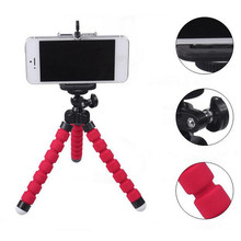 Mobile phone holder flexible octopus tripod