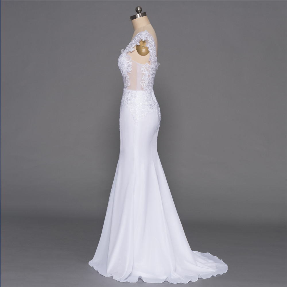 Backless-Vestido-De-Noiva-2018-Beach-Wedding-Dresses-Mermaid-Deep-V-neck-Appliques-Lace-Cheap-Boho (1)