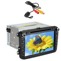 8 Inch HD Digital Touch Screen Car DVD Radio Multimedia Player GPS Navigation BT For VW