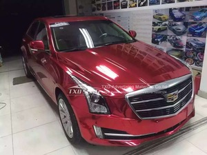 Image 5 - 7 Sizes High quality Strechable chrome mirror red film Flexible car mirror red vinyl sticker Decal sheet