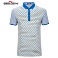 Seven7 Brand Summer Men Polo Shirts Plaid Pattern Performance Casual Polo Shirts Striped Short Sleeve Polo Shirts 706T53640