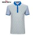 Seven7 verano hombres marca polo camisas a cuadros patrón de rendimiento casual polo camisas a rayas de manga corta polo camisas 706t53640