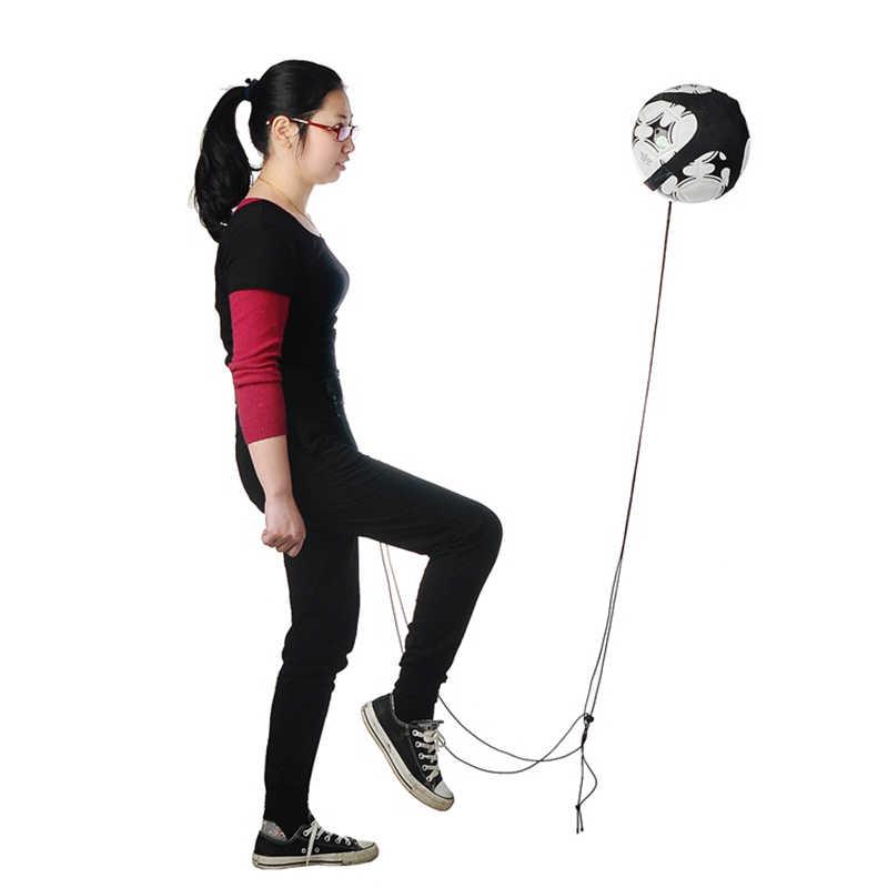 Одежда высшего качества футбольное тренировочное оборудование спортивные Регулируемый Футбол Тренер Мяч тренировочный пояс тренировочное оборудование удар