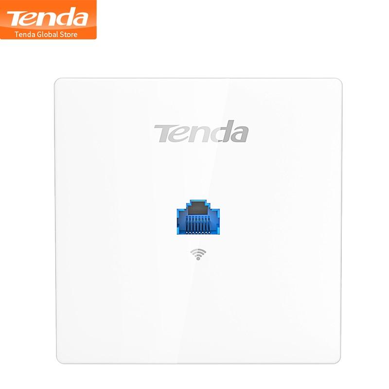 Беспроводная точка доступа TENDA W9, 1200 Мбит/с, 11AC, 86 точек доступа в стену, для клиентов в помещении + AP, для отеля/вилла/больничных отделений