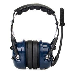 Image 3 - Noise Cancelling Luchtvaart Microfoon Headset Walkie Talkie Oortelefoon Vox Volume Aanpassing Voor Kenwood Baofeng UV 5R Retevis H777